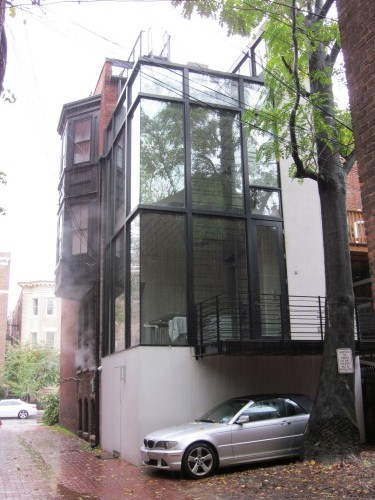 PoPville » Ridiculously Awesome Rear Row House Addition