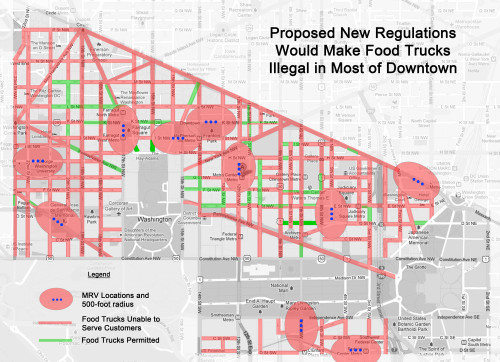 Map of Proposed Regulations
