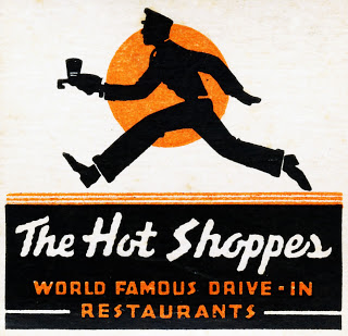 Hot Shoppes matchbook 01 excerpt