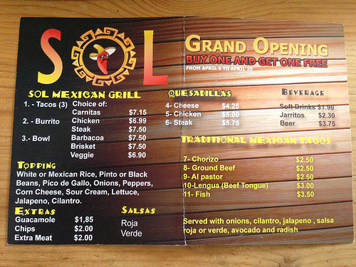 sol_mexican_grill_menu_grand_opening