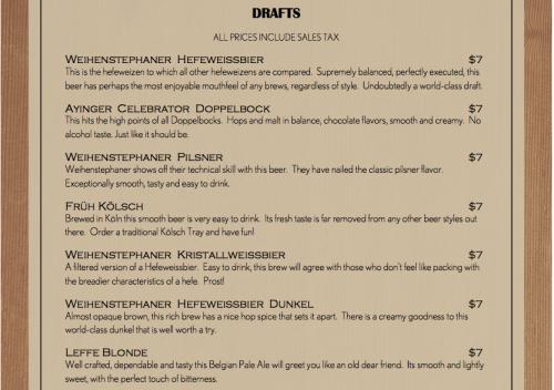 dacha_beer_menu