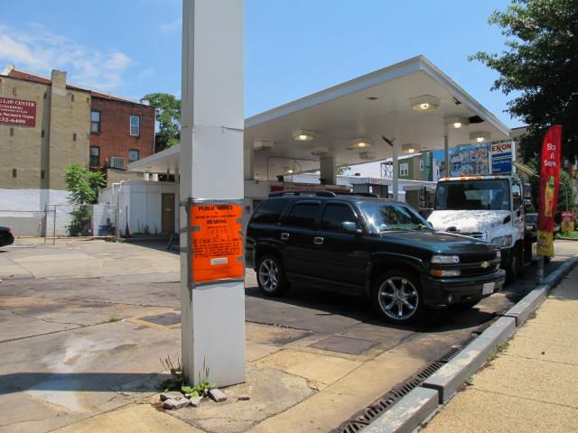 PoPville » Adams Morgan Exxon Closed Sunday, Will be