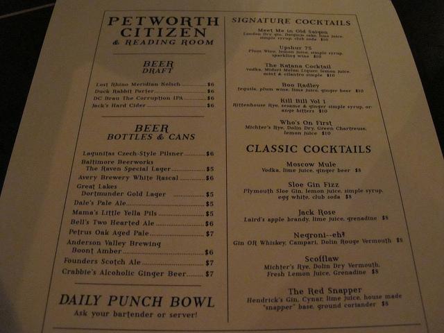 petworth_citizen_drinks_menu