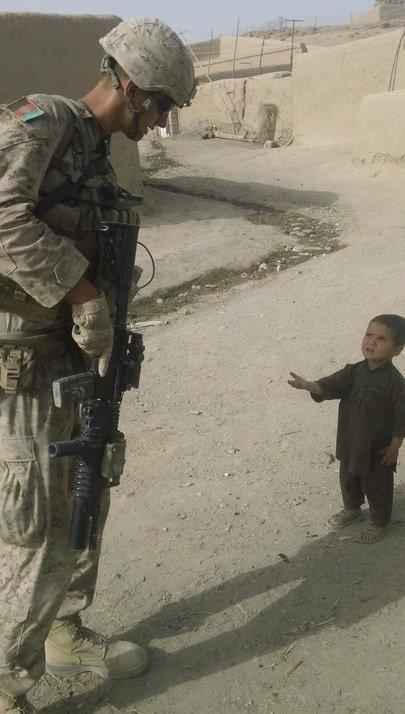 Joseph Afghan. little boy