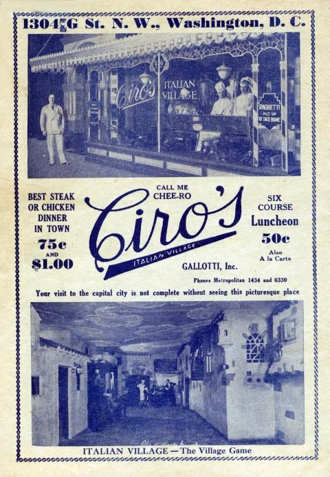 Ciro's 1932 Ad (adjusted)