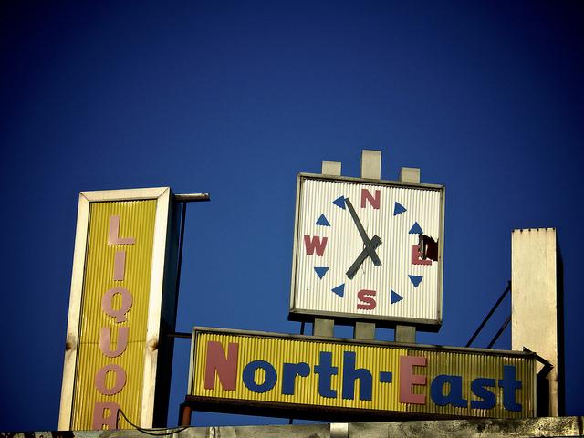 Union_market_liquor_sign_clock