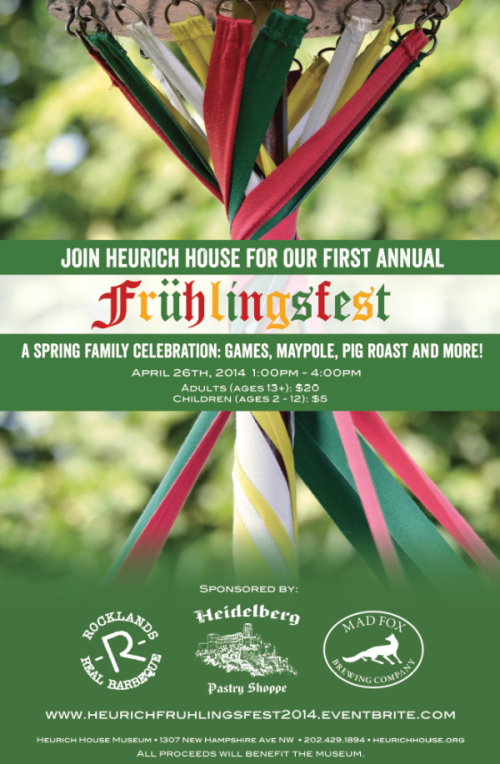 Frühlingsfest at the Heurich House
