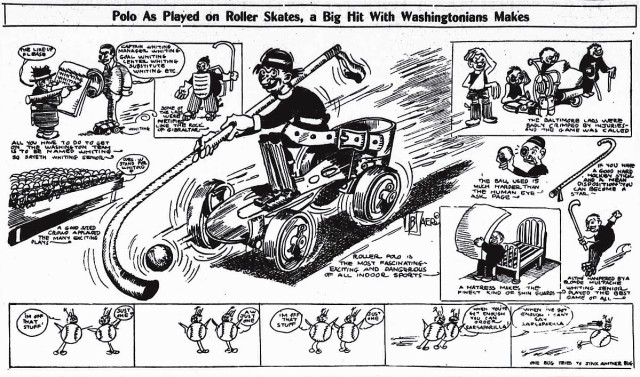 Roller Polo (Wash Times 12-13-1912)
