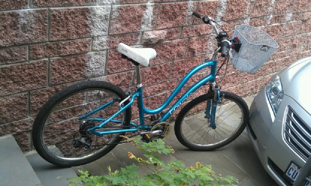 found bike