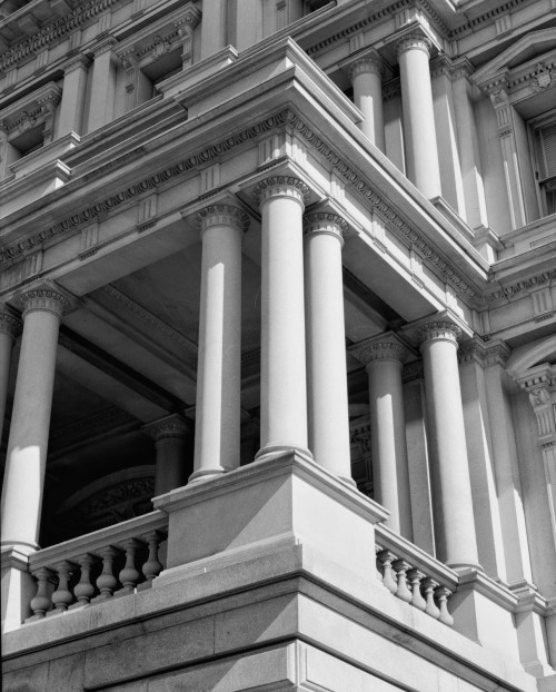 State, War and Navy Building detail HABS 029651pu