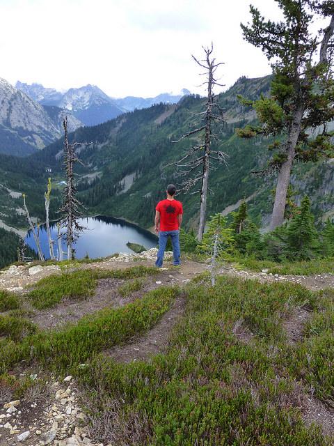Maple Pass, North Cascades, Wash., Aug. 2013