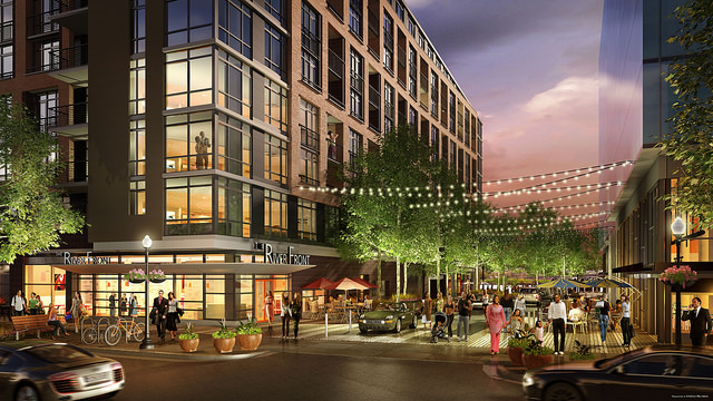 Popville 187 Rendering For Mixed Use Retail And Multifamily