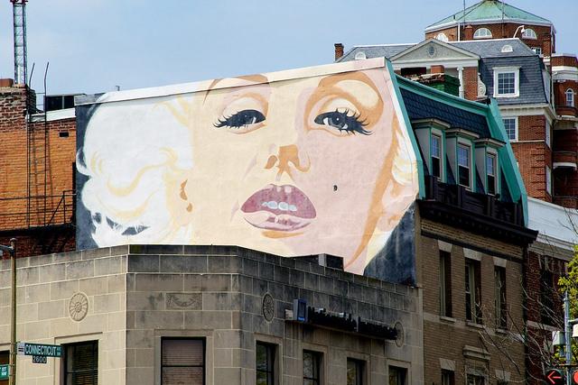 Marilyn Monroe Mural_dc
