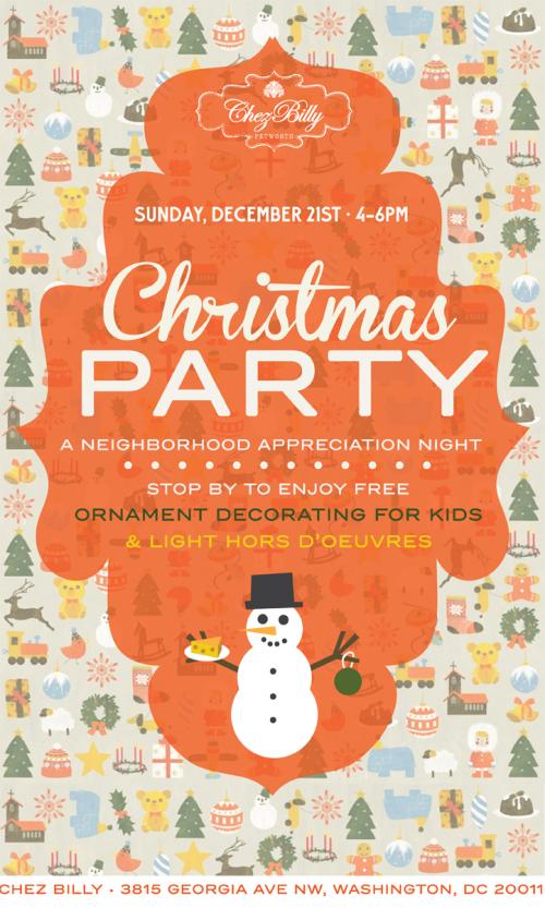 Chez Billy - Christmas Party 2014 copy2