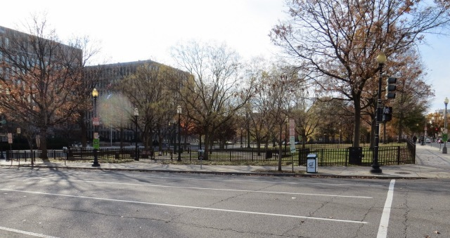 Site of Washington Auditorium 11-29-2014