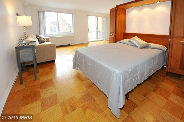 2829 Connecticut Avenue Northwest murphy bed