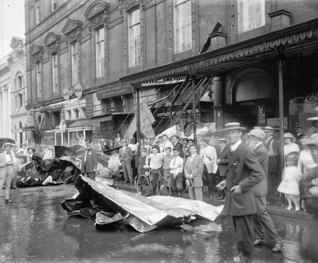 Masonic Temple - Storm of July 30 1913