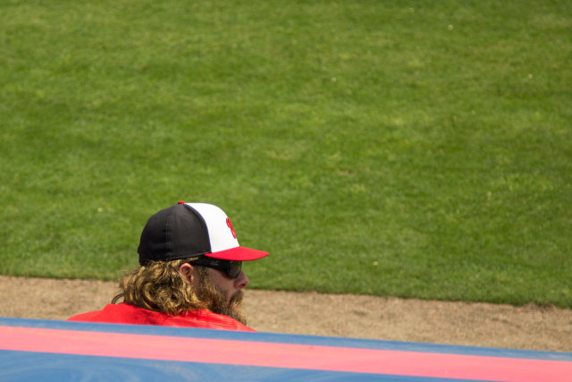 Watching-Werth-watching-the-game-from-the-dugout