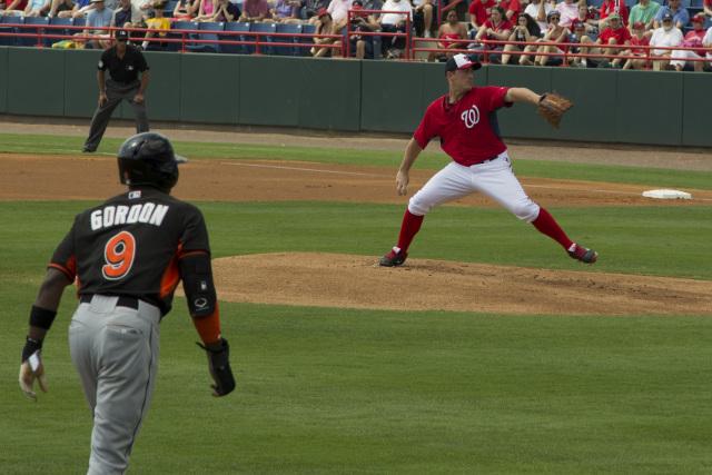 Zimmerman pitching