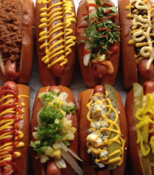 Haute Dogs and Fries