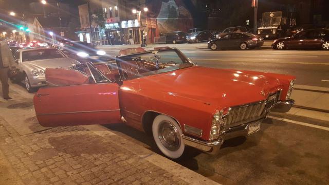 Cadillac coupe de ville on h st. Ne