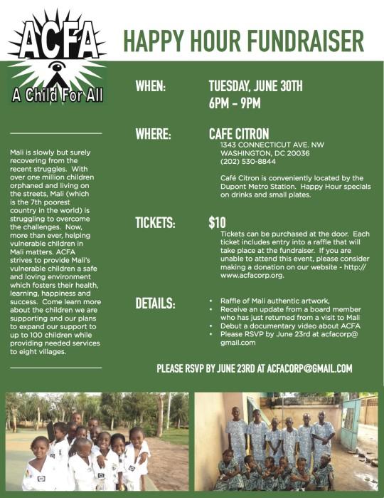 ACFA Fundraiser