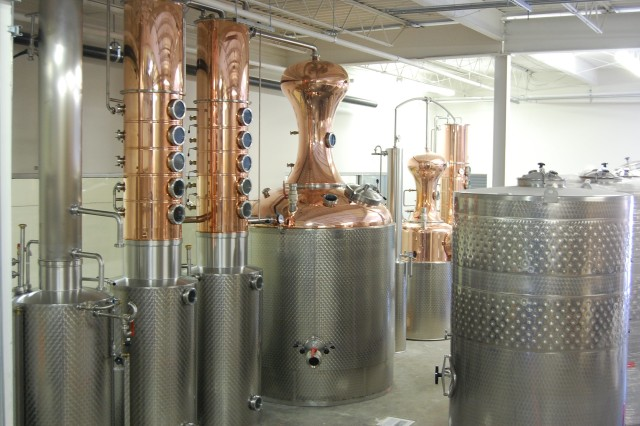 Inside Look - Distillery