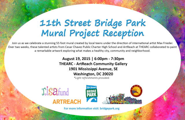 Mural Art Project Reception @THEARC Flyer v2