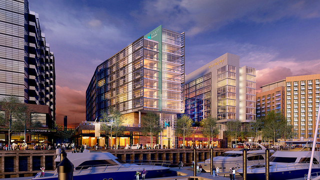 wharf hotels sw dc