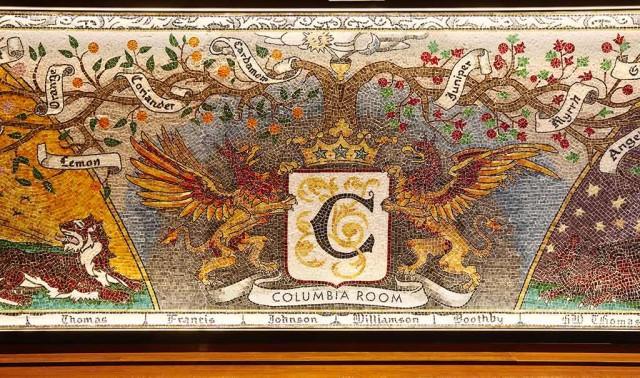 COLUMBIA ROOM - Mosaic mural