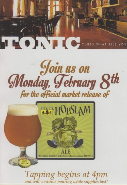 hopslam tonic