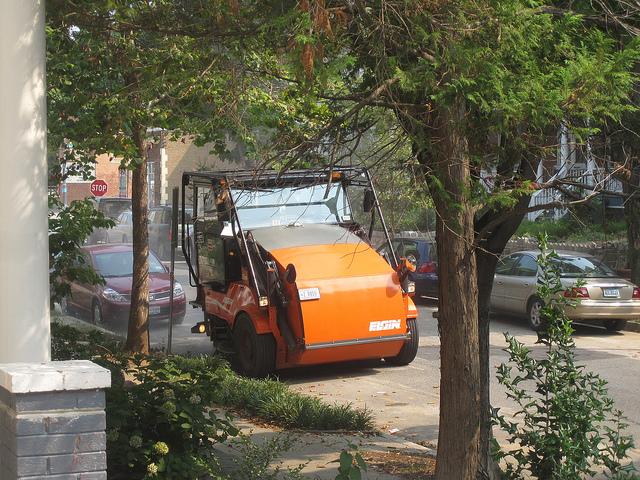 street sweep