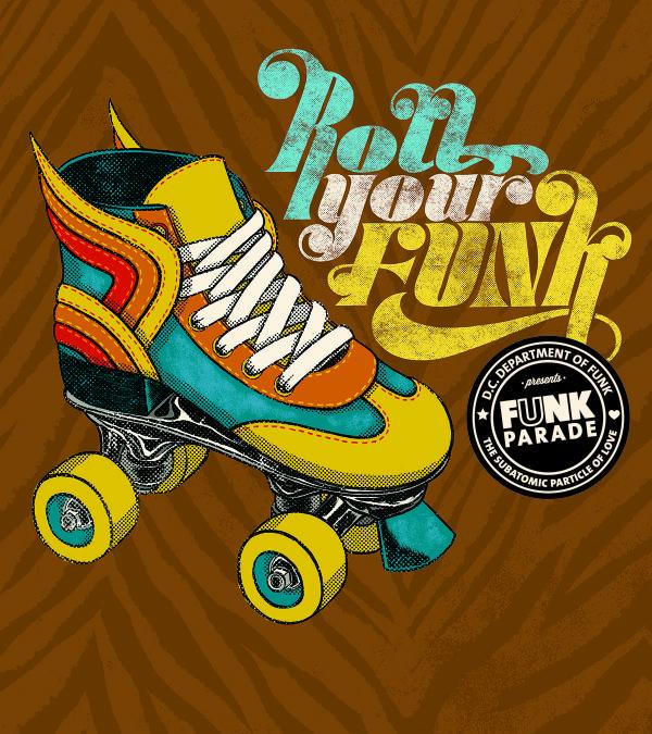 2016 Funk Parade Poster