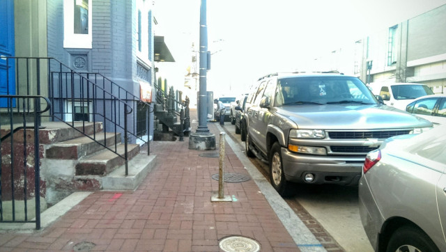 sidewalk of shame