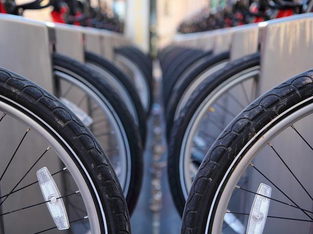 bike share parking