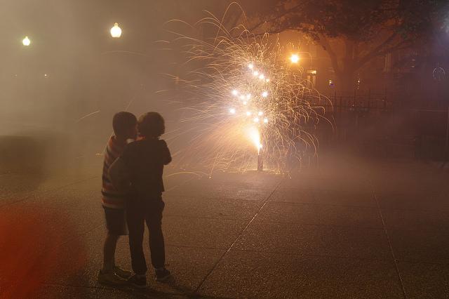 fireworks kids
