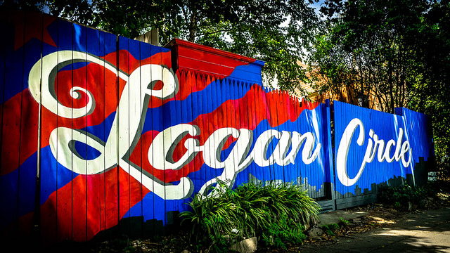 logan circle mural