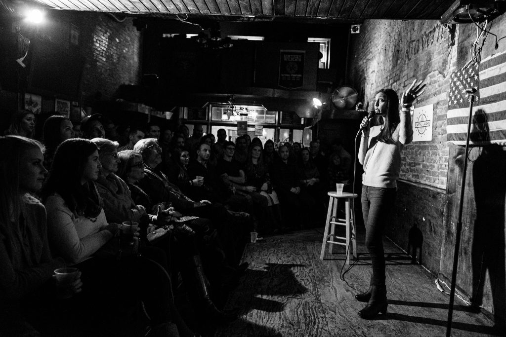 Capital Laughs at Town Tavern 01/14/17. Photo Credit: Nicholas Karlin www.nicholaskarlin.com
