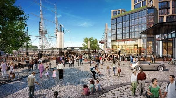 wharf rendering