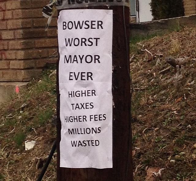 bowser sign
