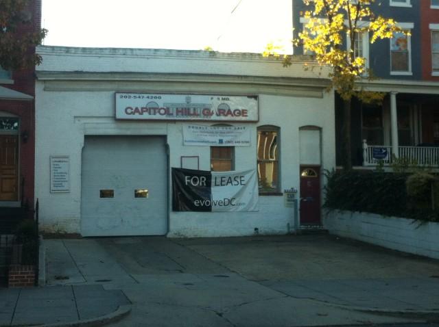 cap hill garage