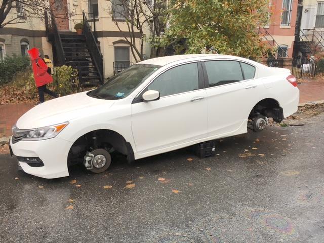 stolen tires