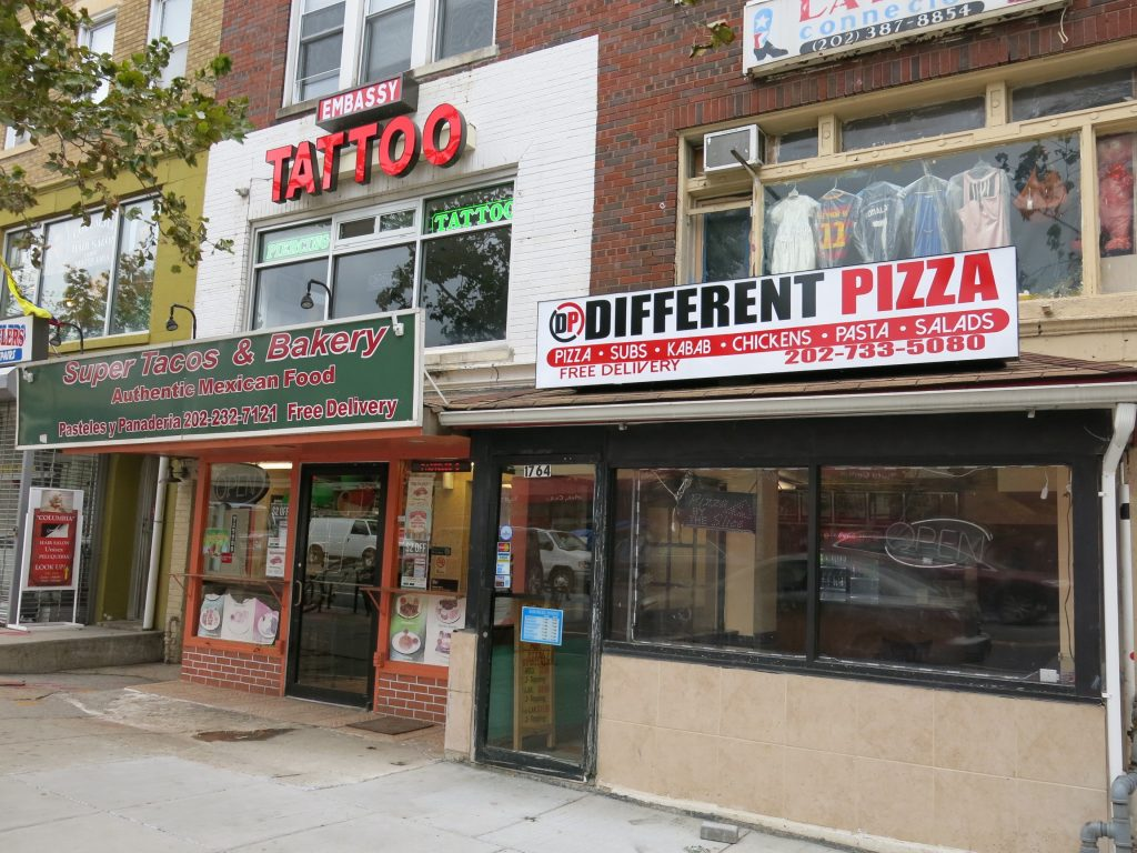 different pizza