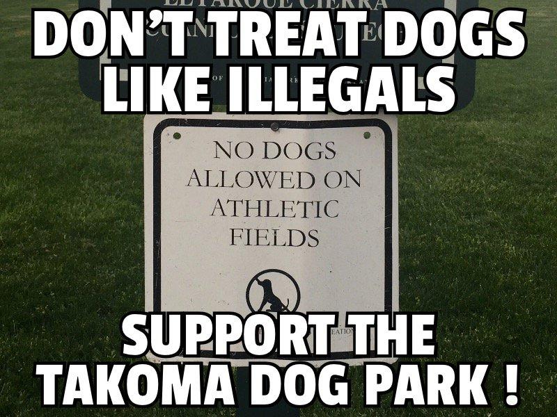 dog park illegal