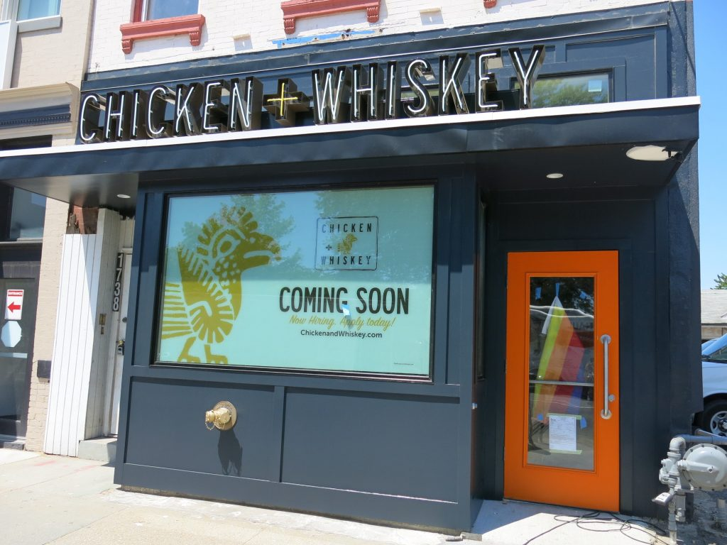 PoPville » Chicken + Whiskey Opens 11am in Logan – All the Details ...
