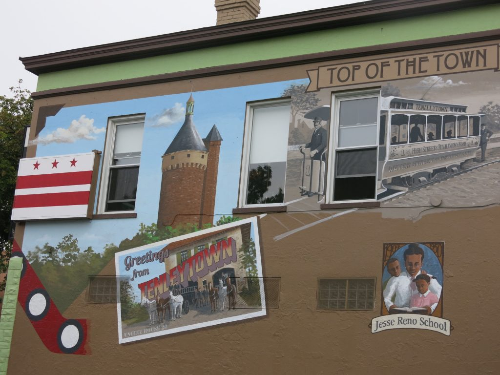 PoPville » Checking in on the new Tenleytown Mural by