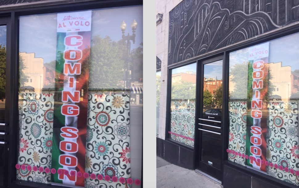 PoPville » Cucina Al Volo coming to the former Ripple space in ...