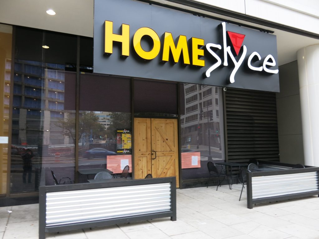 Homeslyce Pizza Bar Posts Liquor License Placard On K Street