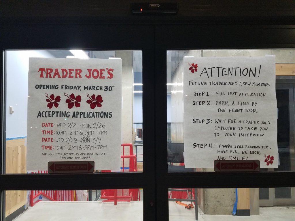 PoPville » Trader Joe\'s NoMa Opening Date Set – The Lines Will Begin ...