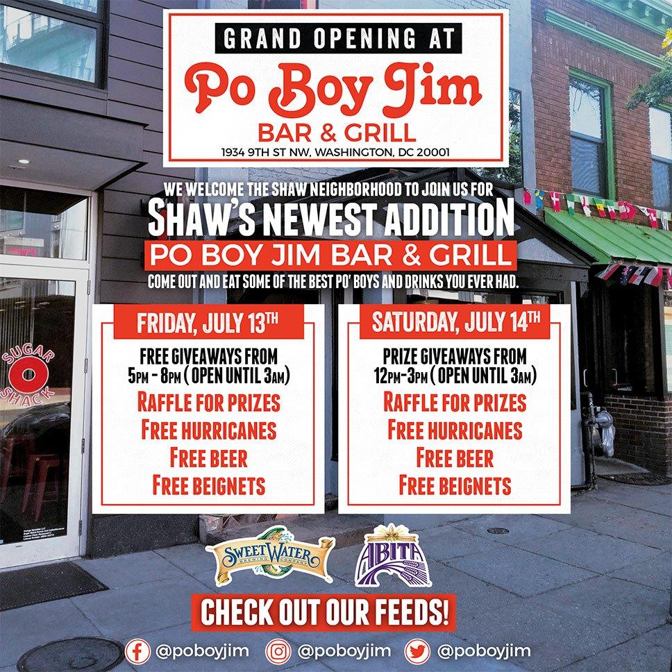 PoPville » Po Boy Jim's New Location In Shaw Now Open